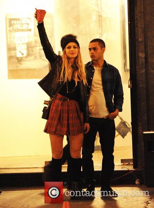 Melissa Benoist and Gabriel Chavarria 4