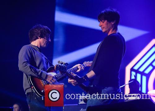Blur, Alex James and Graham Coxon