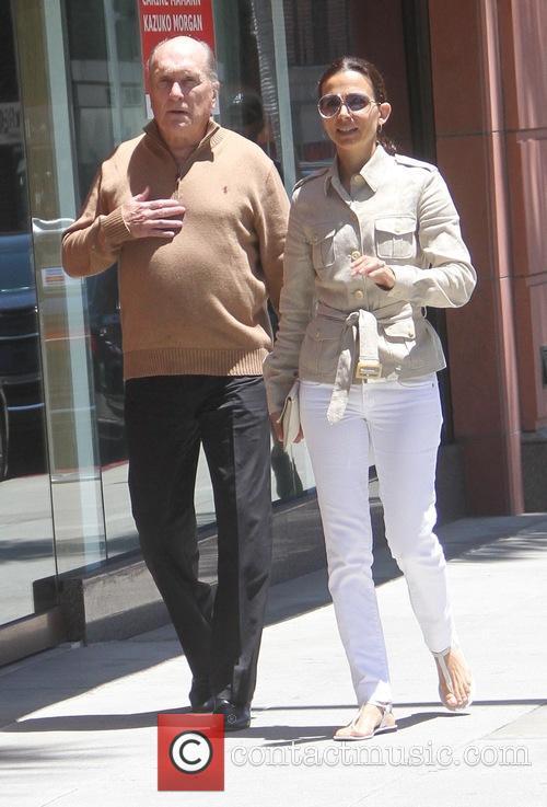 Robert Duvall and Luciana Duvall