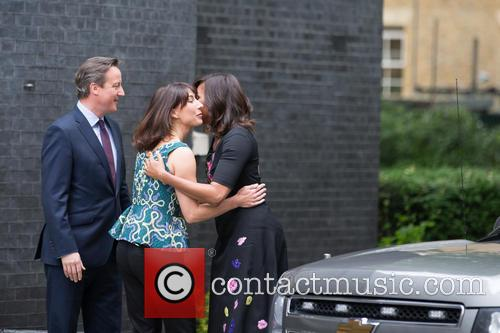 Michelle Obama, David Cameron Mp and Samantha Cameron