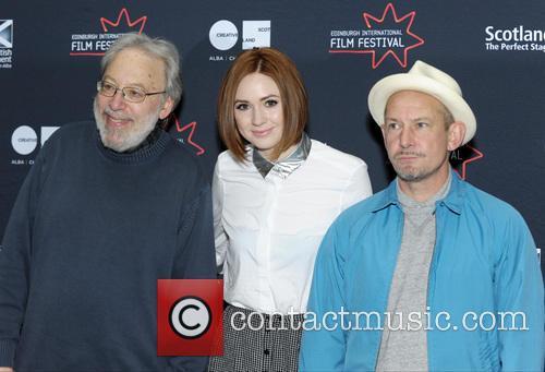 Kenneth Turan, Karen Gillan and Ian Hart