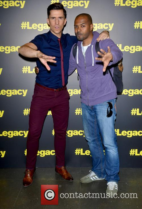 Russell Kane and Noel Clarke 7