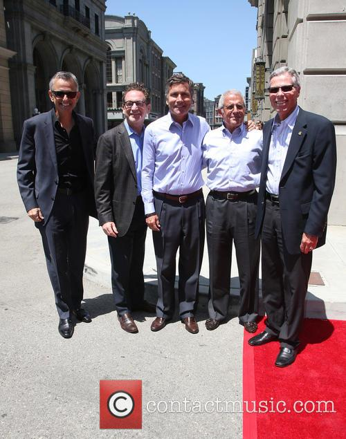 Steve Burke, Larry Kurzweil, Tom Williams, Ron Meyer and Mark Woodbury