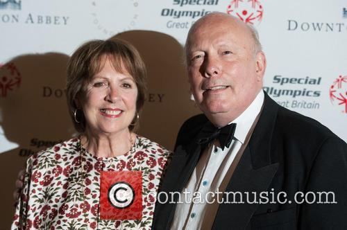 Penelope Wilton and Julian Fellowes