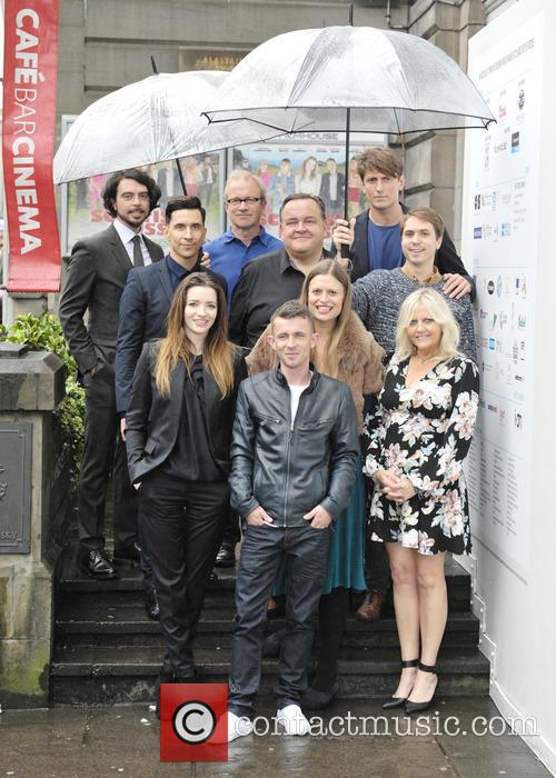 Talulah Riley, Paul Brannigan, Russell Kane, Marianna Palka, Harry Enfield, Joe Thomas, Morgan Watkins, Camille Coduri, Ryan Gage and Steven O'donnell 3
