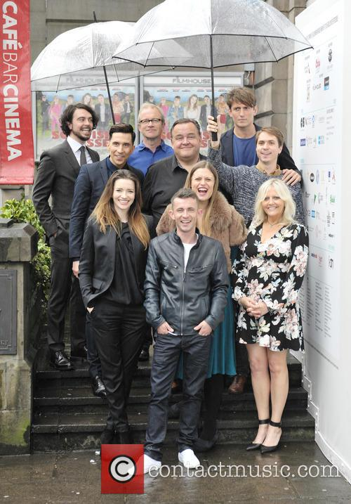 Talulah Riley, Paul Brannigan, Russell Kane, Marianna Palka, Harry Enfield, Joe Thomas, Morgan Watkins, Camille Coduri, Ryan Gage and Steven O'donnell 4