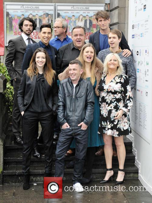 Talulah Riley, Paul Brannigan, Russell Kane, Marianna Palka, Harry Enfield, Joe Thomas, Morgan Watkins, Camille Coduri, Ryan Gage and Steven O'donnell 5