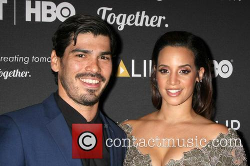 Raul Castillo and Dascha Polanco