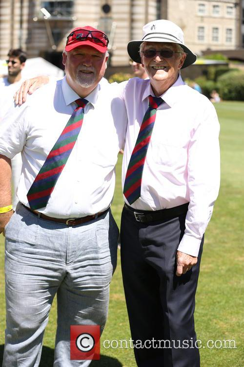 Michael Parkinson and Mike Gatting