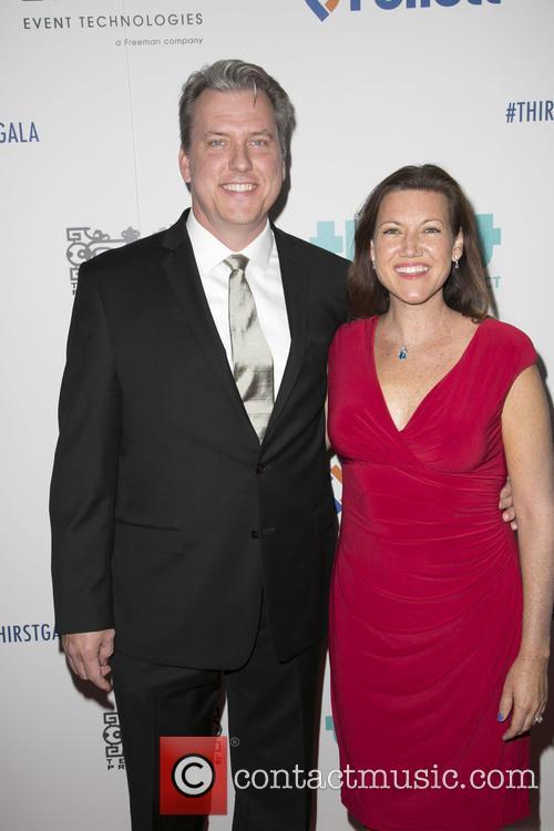 Brad Abrell and Melissa Disney