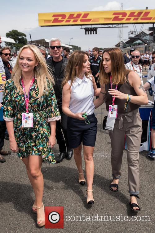 Mel C, Geri Halliwell and Emma Bunton 5