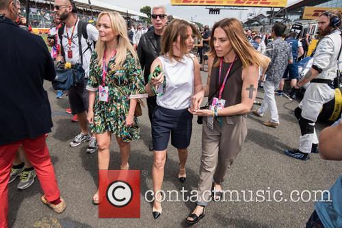 Mel C, Geri Halliwell and Emma Bunton 6