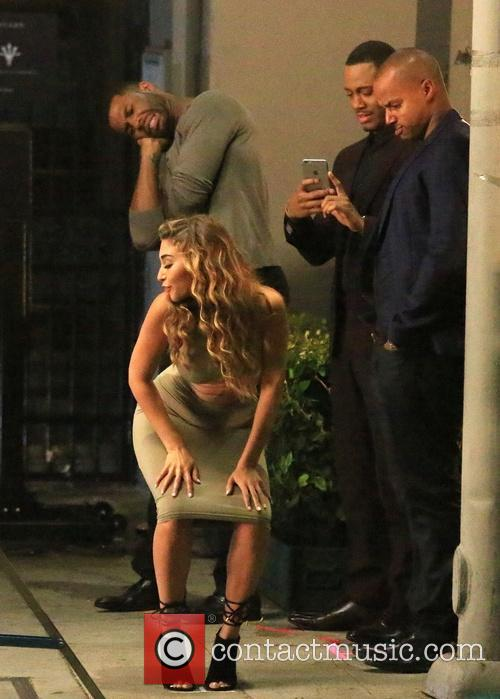 Chantel Jeffries, Terrence Jenkins and Donald Faison