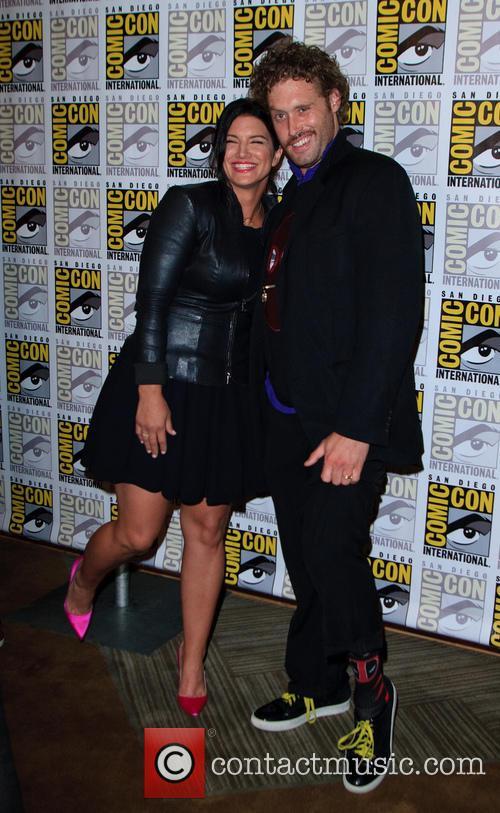 Gina Carano and T.j. Miller 2