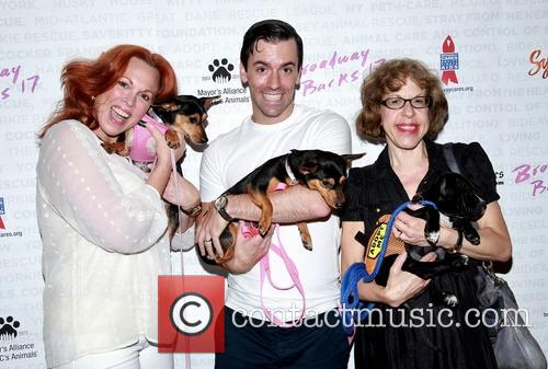 Carolee Carmello, Clyde Alves and Jackie Hoffman