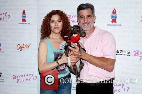Bernadette Peters and Bill Berloni