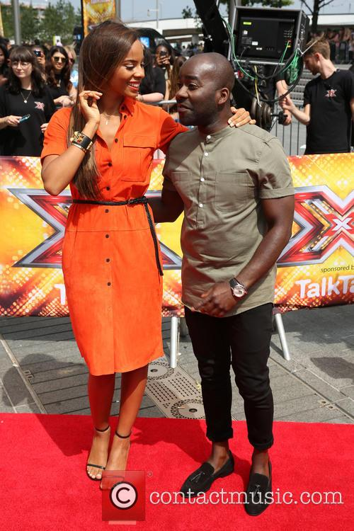 Rochelle Humes and Melvin Odoom 9