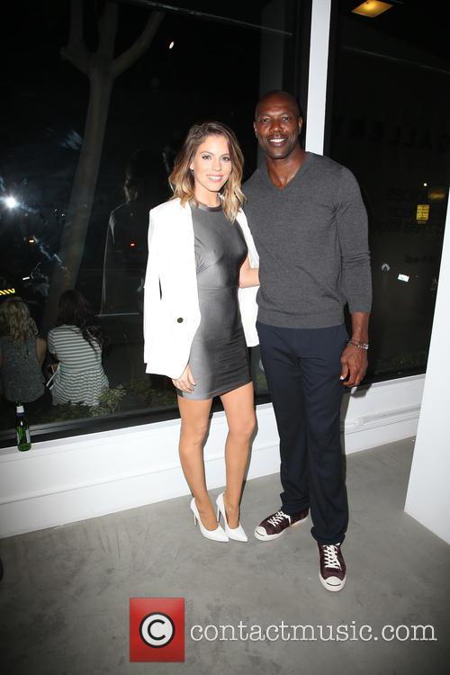 Stephanie Bauer and Terrell Owens