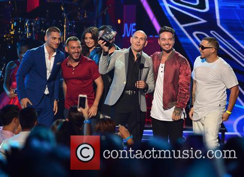 Maluma, Pitbull and J Balvin 3
