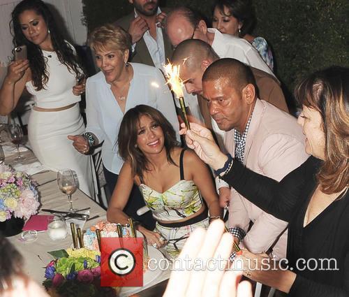 Jennifer Lopez, Casper Smart and Benny Medina