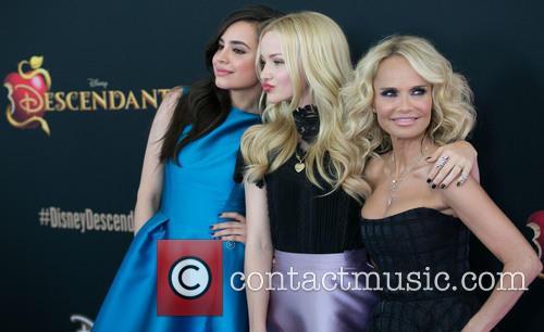 Sofia Carson, Dove Cameron and Kristin Chenoweth