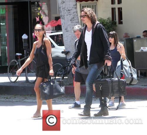 Chris Cornell and Vicky Karayiannis 3