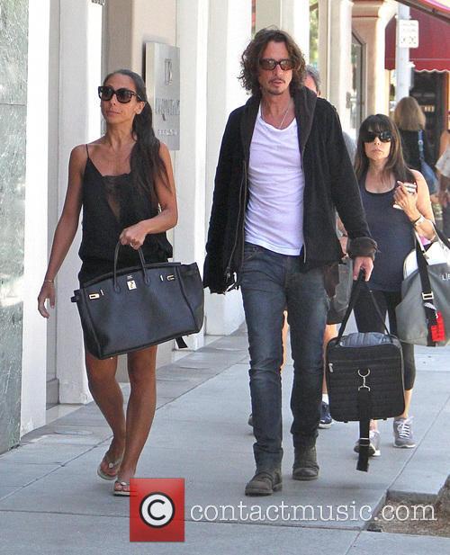 Chris Cornell and Vicky Karayiannis 4
