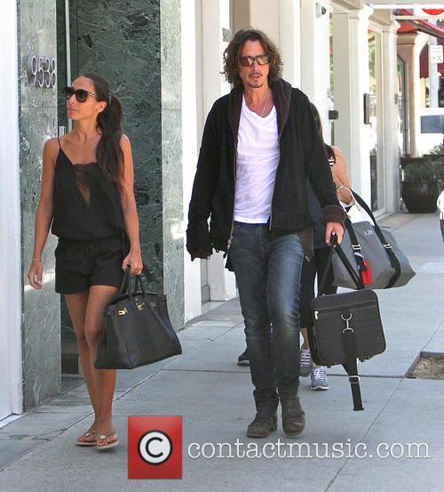 Chris Cornell and Vicky Karayiannis 6
