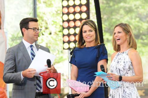 Carson Daily, Savannah Guthrie and Natalie Morales 1