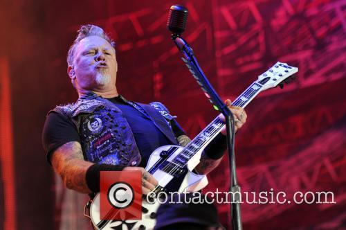 James Hetfield and Metallica