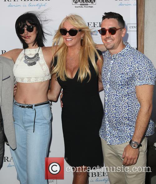Aliana Lohan, Dina Lohan and Michael Lohan Jr.