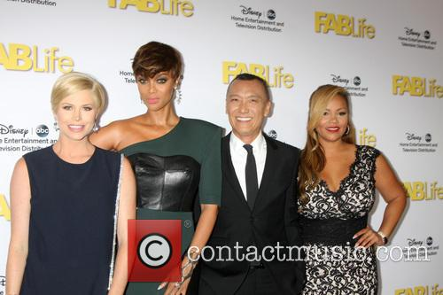 Fablife Cast and Tyra Banks