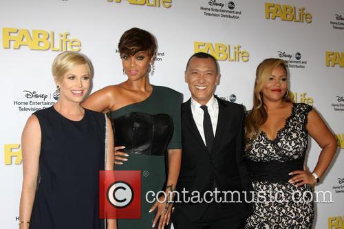 Fablife Cast and Tyra Banks