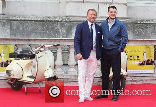 Guy Ritchie and Henry Cavill