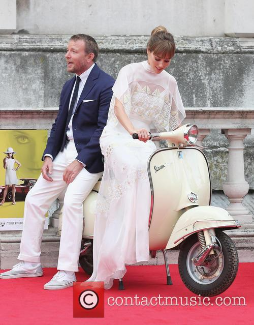 Guy Ritchie and Jaqui Ainsley 1