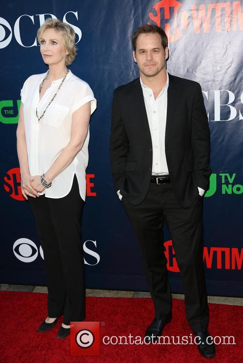 Jane Lynch and Kyle Bornheimer
