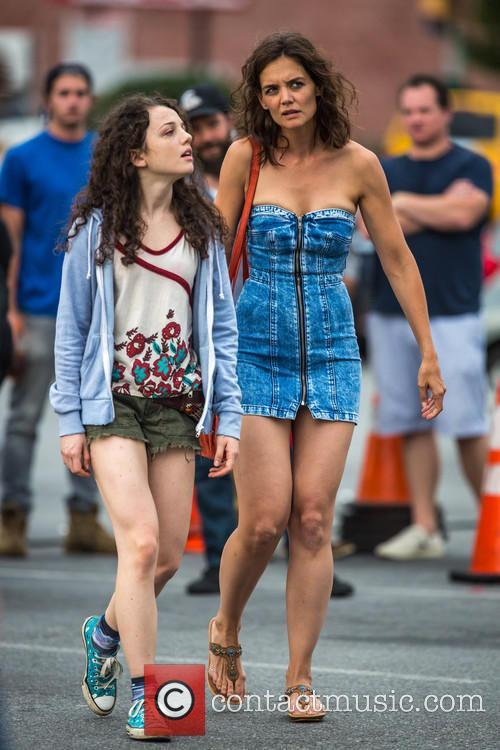 Katie Holmes and Stefania Owen 1