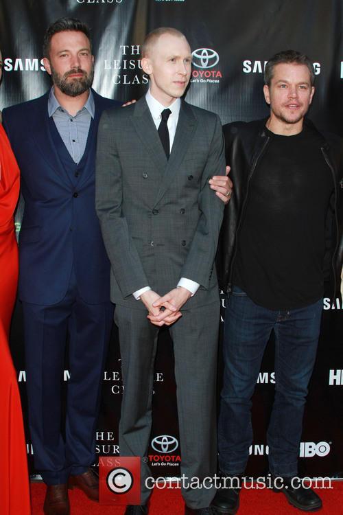 Ben Affleck, Jason Mann and Matt Damon 2