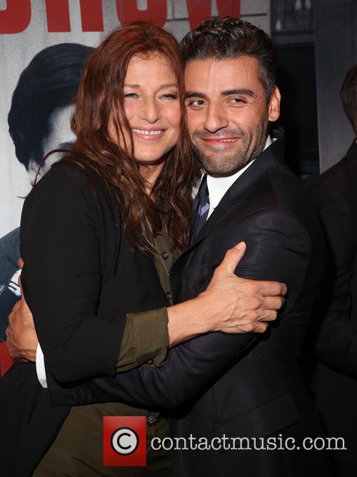 Catherine Keener and Oscar Isaac