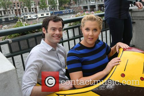 Amy Schumer and Bill Hader 4