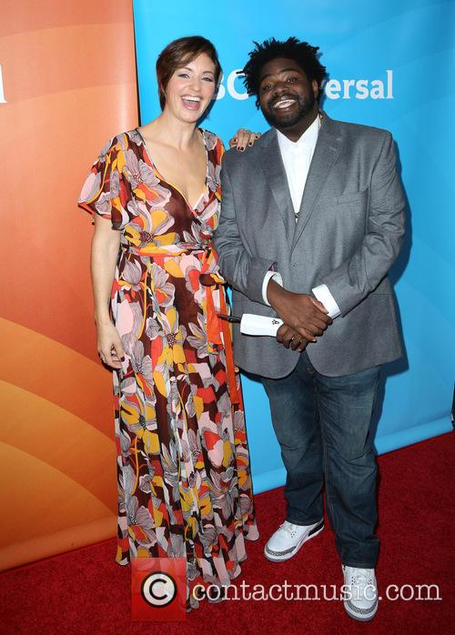 Bianca Kajlich and Ron Funches 3