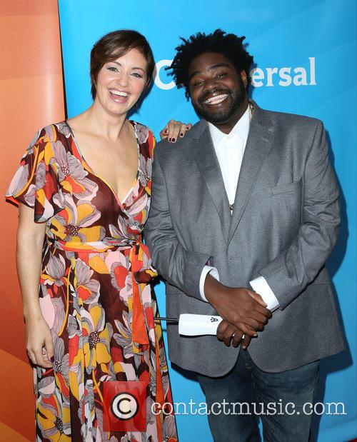 Bianca Kajlich and Ron Funches 4