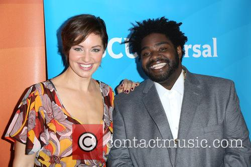 Bianca Kajlich and Ron Funches 5