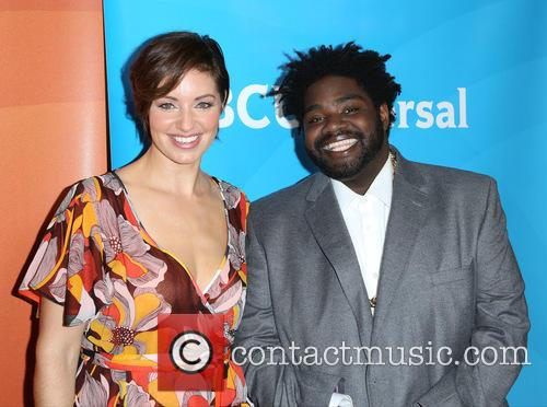 Bianca Kajlich and Ron Funches 1