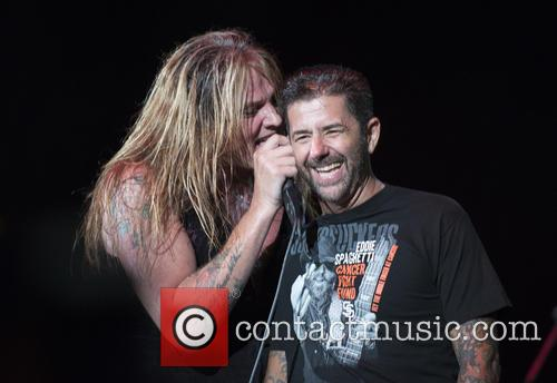 Sebastian Bach and Riki Rachtman
