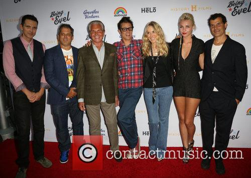 Ashley Hamilton, Jeff Tremaine, George Hamilton, Johnny Knoxville, Alana Stewart, Maty Noyes and Mat Hoffman