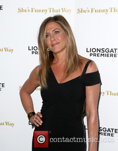 Jennifer Aniston Makes First Public Appearance Since Wedding At 'She's Funny That Way' Premiere