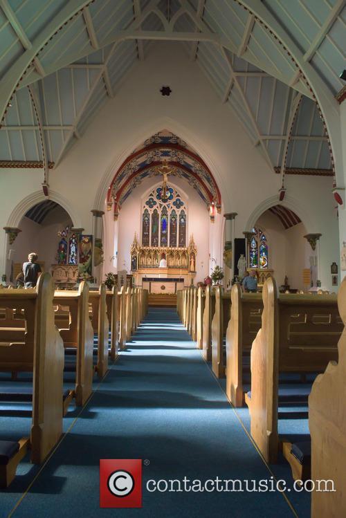 Cilla Black and St Mary's Church 3