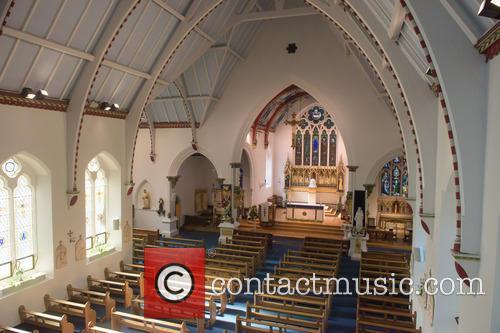 Cilla Black and St Mary's Church 4