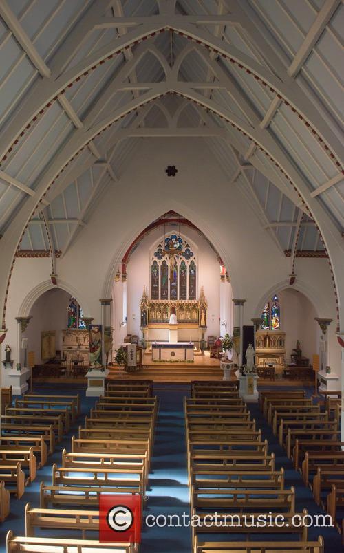 Cilla Black and St Mary's Church 5